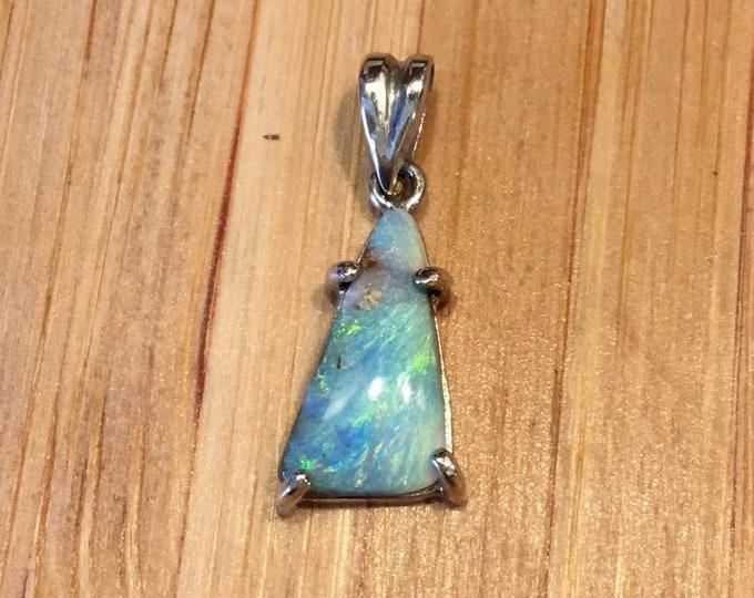 18ct Opal Pendant, Boulder Opal