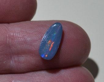 Loose Australian Opal Doublet Cabochon