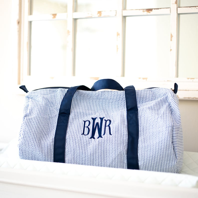 Personalized Baby Duffle Bag