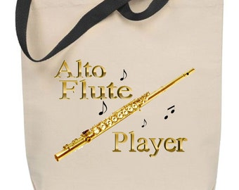 Alto Flute Tote Bag
