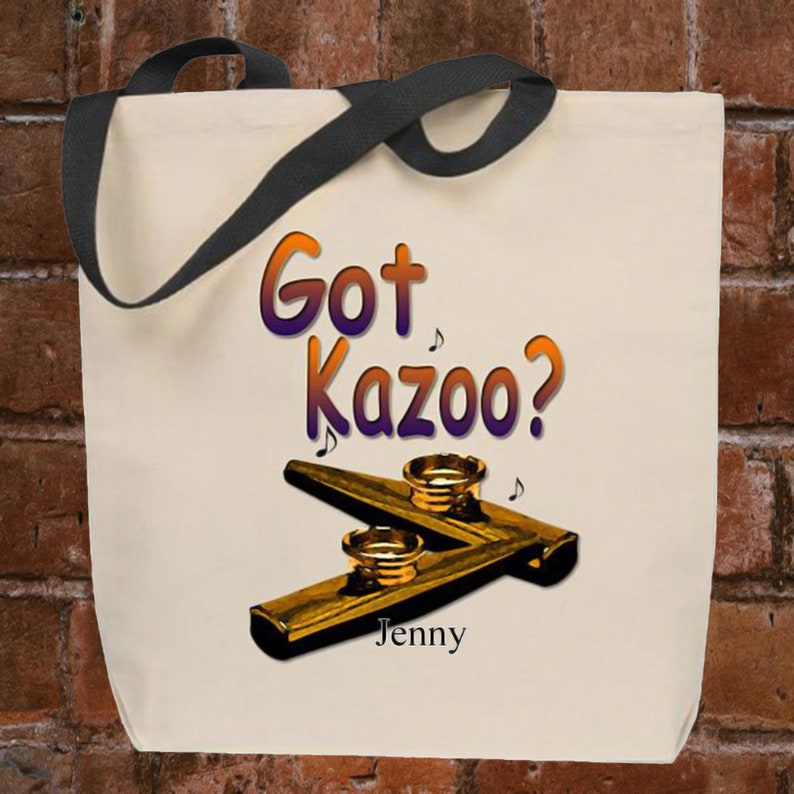 Personalized Tote Bag Got Kazoo