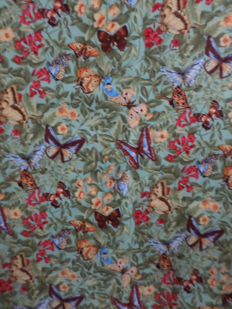 grey  BUTTERFLY FABRIC 100/% COTTON BEAUTIFUL,BEST QUALITY,WIDE width