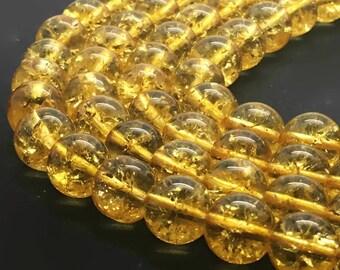 Round Natural Citrine Beads Strand 2∼14mm Citrine Stone Citrine Gemstone Citrine Mala Citrine Round Citrine Wholesale Citrine Natural