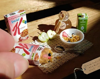 Realistic Miniature Food for the Dollhouse,pack of anchovies acciughe confezionate 1:12 Scale Artisan Handmade Miniature
