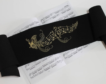 Piano Runner Keyboard Maker Keyboard Cover for Piano Keyboard Ceiling Embroidered 100% Wool Black 260