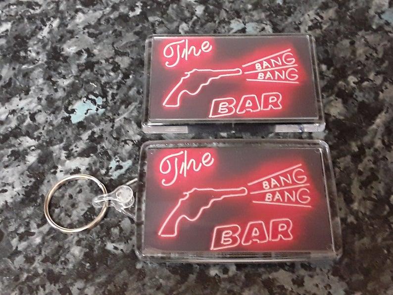 7510dfa024572 Twin Peaks Bang Bang Bar. Choice of Fridge Magnet, Keyring or Both!