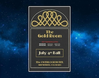 The Gold Room Ball Fridge Magnet. NEW. Inspired by The Shining. King, Kubrick