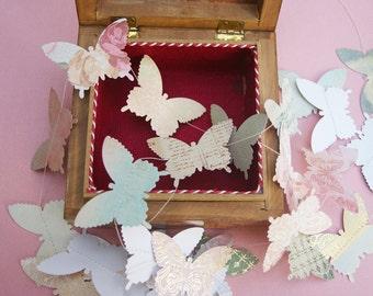 sweet nothings papercut butterfly garland