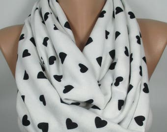 Valentine's Gift Heart Scarf Love Scarf Women Fashion Accessories Gift For Her Gift For Mom Christmas Gift For Her Gift For Women