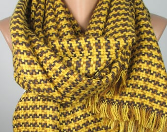Houndstooth Blanket Scarf Travel Gift For Women For Men Wanderlust Flannel Scarf Women Men Accessories Gift For Her For Him Winter Scarf