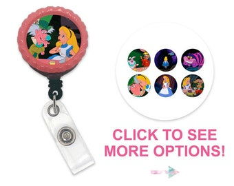 living locket charm badge clip,Mickey badge,Rainbow Floating Locket Badge Reel,rn badge disney badge reel,rhinestone retractable badge reel