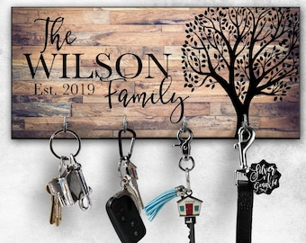 Personalized Key Hanger 6ccbcd9c74