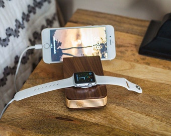 Holz Apple Watch Dock Apple Watch Docking Station Iphone 7
