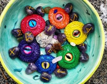 Rainbow dragon eyes