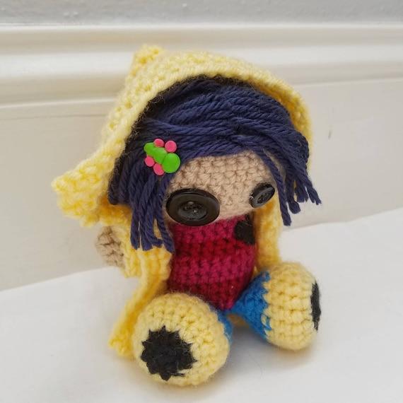 Coraline Voo Doo Doll Custom Etsy
