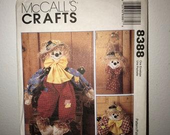 McCalls Crafts 3881 Summer UNCUT Halloween Spring Winter Sewing Pattern Easter Christmas Seasonal Wreaths Fall Thanksgiving