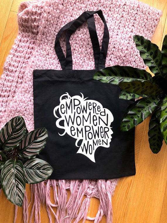 b26a53b7fb Feminist Tote Bag   Feminist Quote   Girl Boss   Empowered