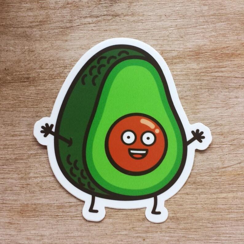 Sticker Die Cut Decal vinyl got guacamole 2x