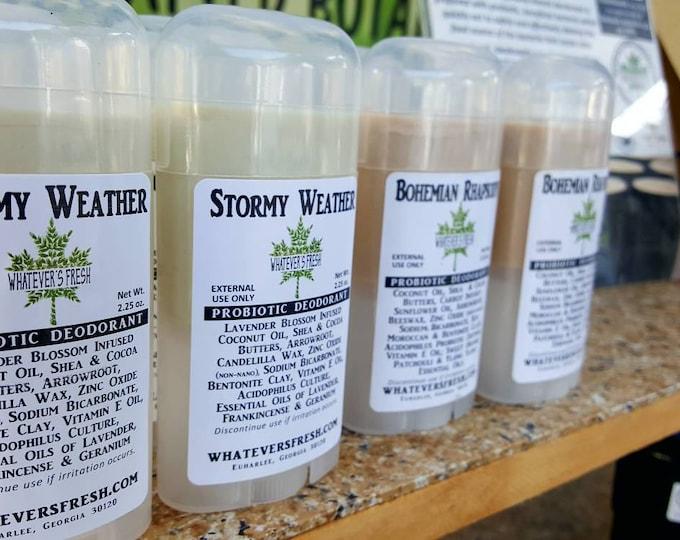 Multipack Botanical Deodorant with Natural Clays