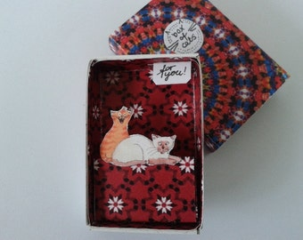 Pocket box nr 10  Box of cats