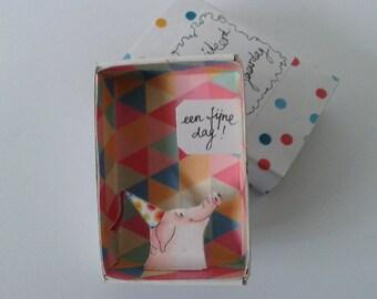 Pocket box nr 14  Happy birthday