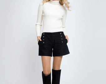 Wool and Cashmere Women's Shorts ELLE by Rumour London