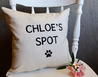 Dog Quote Pillow Etsy