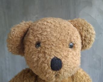 c09fd147728662 Bear Plush Bear Vintage Plush Bear Eduscho Gmbh   Co. Kg Bear