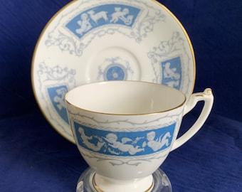 Coalport Revelry blue Fine Bone China  9 Luncheon Plate