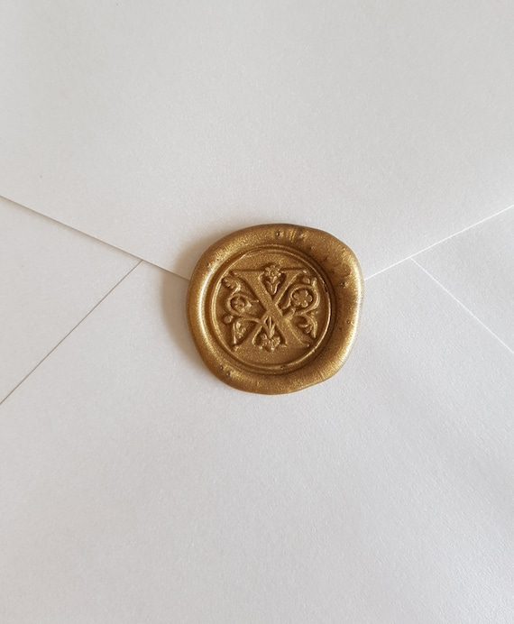 Alphabets Monogram Letter Classic font Envelope Wax seals hand made Self adhesive wax seal stickers Pure Invites Initials K Wax Stickers