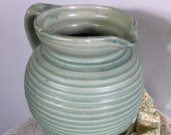 Art Deco style ceramic jug.