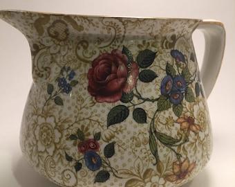 Large burleigh ware jug