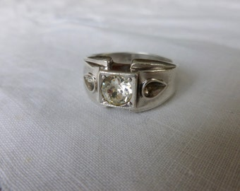 Uncas Stering and Zircon ring
