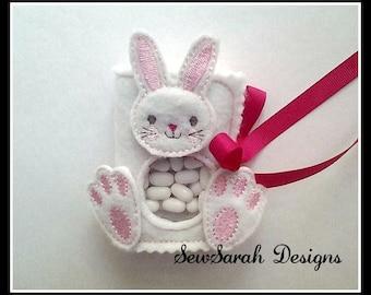 ITH Easter Bunny Mint Freshener Holder Instant digital download