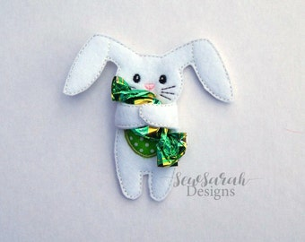 ITH Bunny Rabbit Candy Holder (5x7) Instant digital download