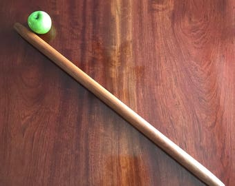 """Pasta Rolling Pin 39"""" Solid Cherrywood"""