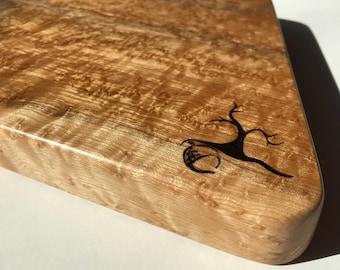 Birds-eye Maple solid wood Cutting Board