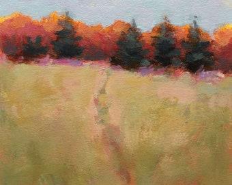 """Maine autumn landscape """"Quintet"""""""