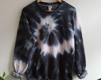 ec18474bee1 The Black Snake Tie-Dye Sweatshirt