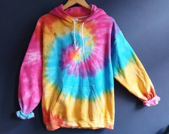 38593e1ca Bright Tie-Dye Hoodie
