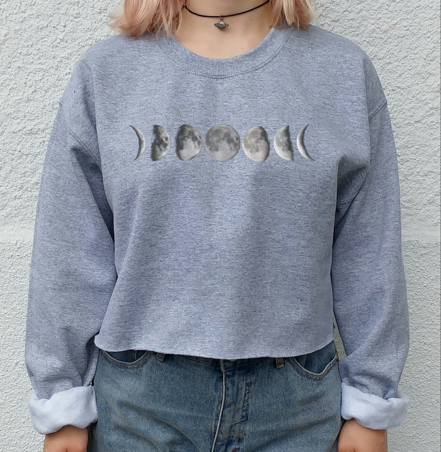 Moon Phase Tumbl Sweater, grunge, indie, hipster blogger