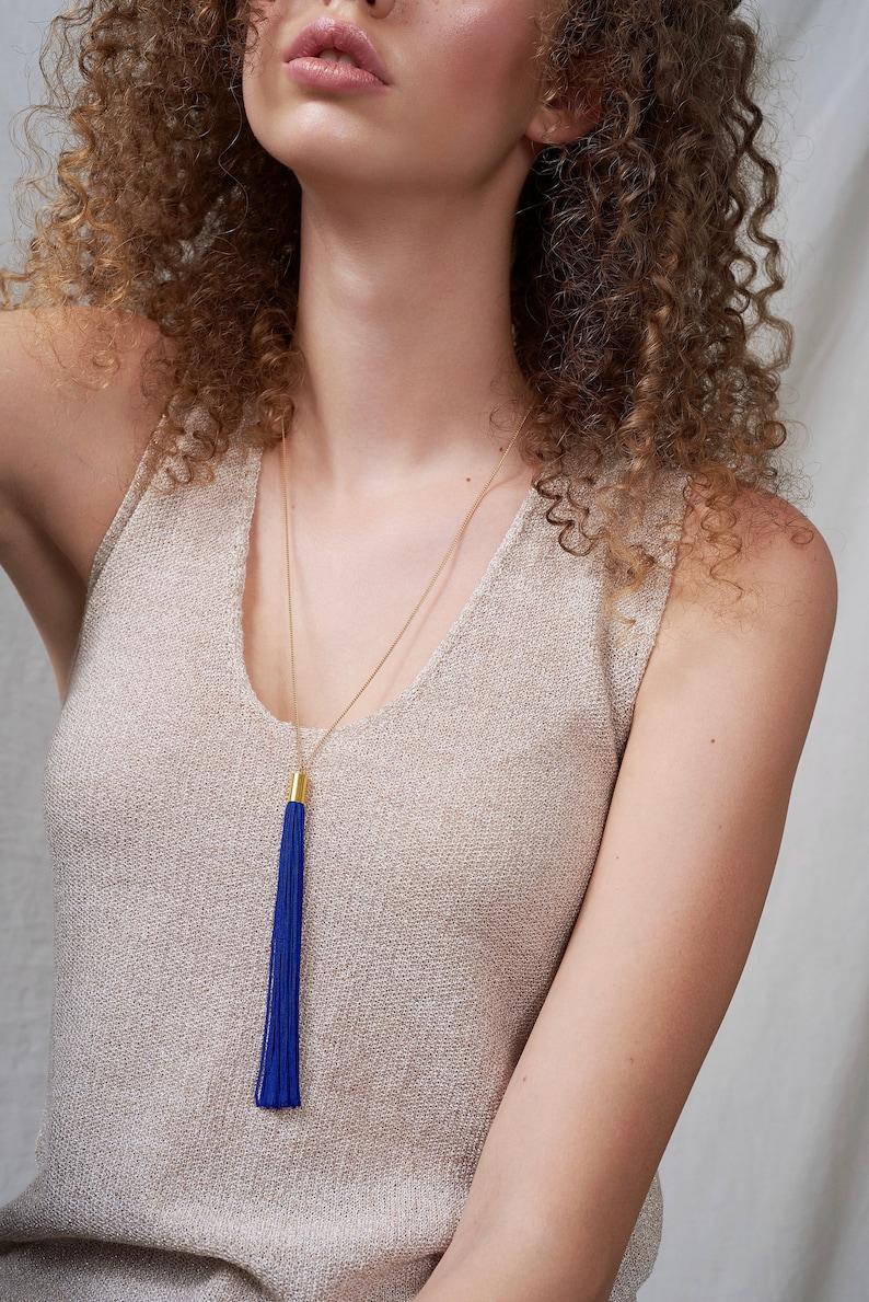 Pendulum Tassel Necklace