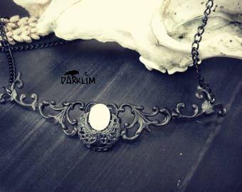 Ready to send tiara moon opal white, fairy tiara