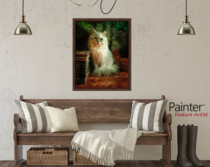Featured listing image: CUSTOM DOG Pet Person Portrait from Photo, Personalized Customized Art, Cat, Animals, horses, dogs, bunnies, critters, wildlife