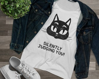 Silently Judging you Cat Tshirt