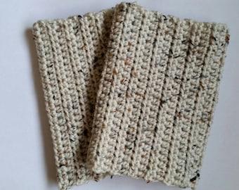 Tall Bootcuffs - Crochet Bootcuffs - Tall Crochet Bootcuffs