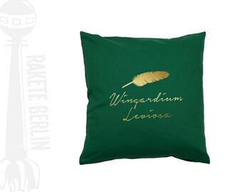 cushion cover  'Fether - Wingardium Leviosa'