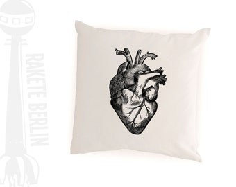 cushion cover 'anatomical heart'