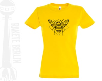 Woman T-Shirt  'bumblebee - drawing'