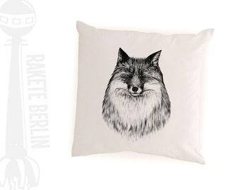 cushion cover   'Fox drawing'